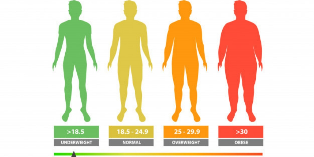 HEALTH IMPORTANCE OF BODY MASS INDEX